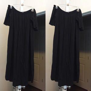 Simple Off Shoulder Dress